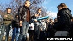 Сімферопольці за 400 рублів брали участь у масовці, зображуючи одеських робітників