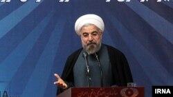 Иран президенті Хассан Роухани. Тегеран, 11 мамыр 2014 жыл.