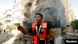 Газа тилкесине абадан урулган соккудан өлгөндөрдүн арасында жайкын тургундар көп экени тууралуу айтылууда, 10-июль, 2014