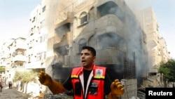 Израелските воздушни напади врз Појасот Газа