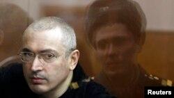Михаил Ходорковский, қамаудағы ресейлік оппозициялық олигарх.