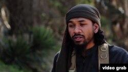 Нейл Пракаш на одному з пропагандистських відео ісламістів