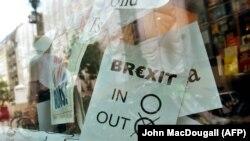 Постэр упадтрымку кампаніі завыхад зЭўразьвязу падчас рэфэрэндуму ўчэрвені 2016 году