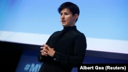 The founder and CEO of Telegram, Pavel Durov