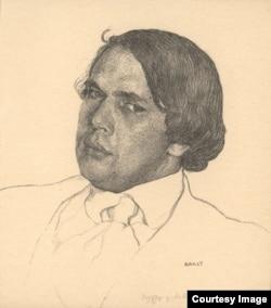 Толстой карандаша Леона Бакста