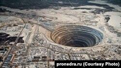 """Рудник """"Мир"""" в Якутии. Архивное фото"""