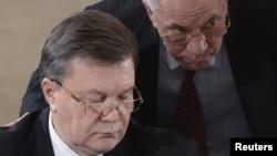 Віктар Януковіч і Мікола Азараў