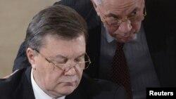 Viktor Yanukovych və Mykola Azarov