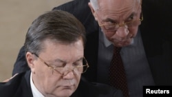 Віктор Янукович та Микола Азаров. Архівне фото