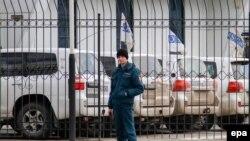 Мониторинговая миссия ОБСЕ. Луганск, апрель 2014 года.