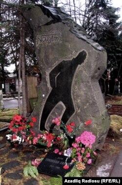 Nazim Hilmətin Moskvadakı məzarı