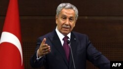 Deputy Prime Minister Bulent Arinc (file photo)