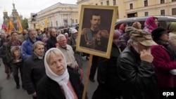 Марш памяти Николая II в Санкт-Петербурге 19 мая 2015 года