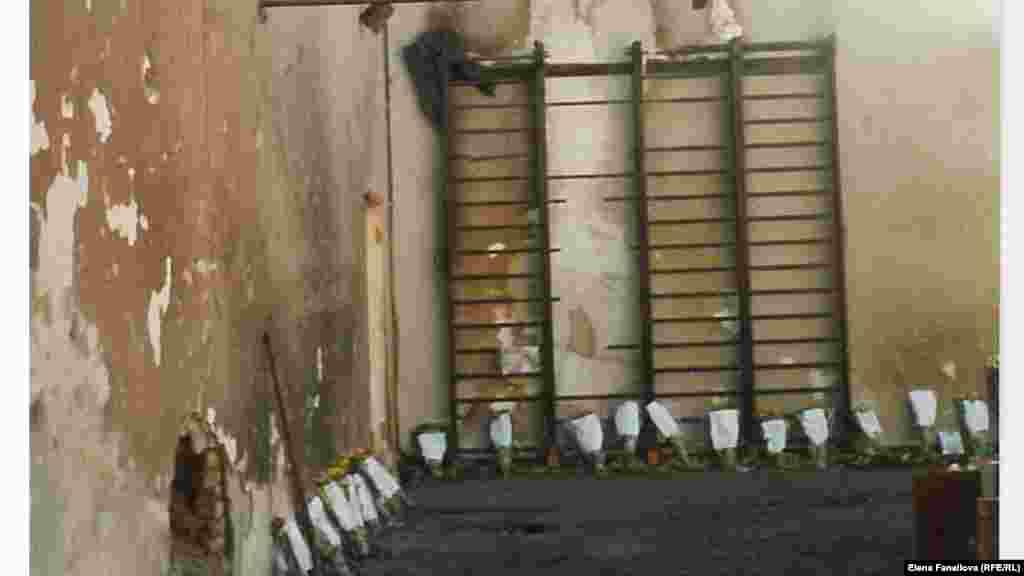 Стена спортзала