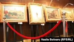 """""""Ciobănaşul"""" de Nicolae Grigorescu (centru)"""