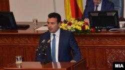 Архивска фотографија-премиерот Зоран Заев