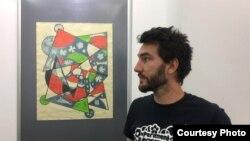 Францускиот мултимедијален уметник Рено Рулман.