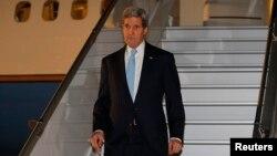 ԱՄՆ-ի պետքարտուղար Ջոն Քերրին ժամանում է Ժնև, 16-ը ապրիլի, 2014թ․