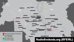 Дороги, які ремонтували у Києві у 2014-2016 роках