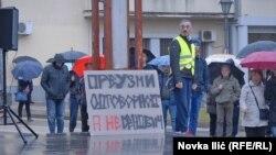 Protest građana Požege, februar 2018.