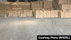 بخشی از گندم کمک شده هند به افغانستان