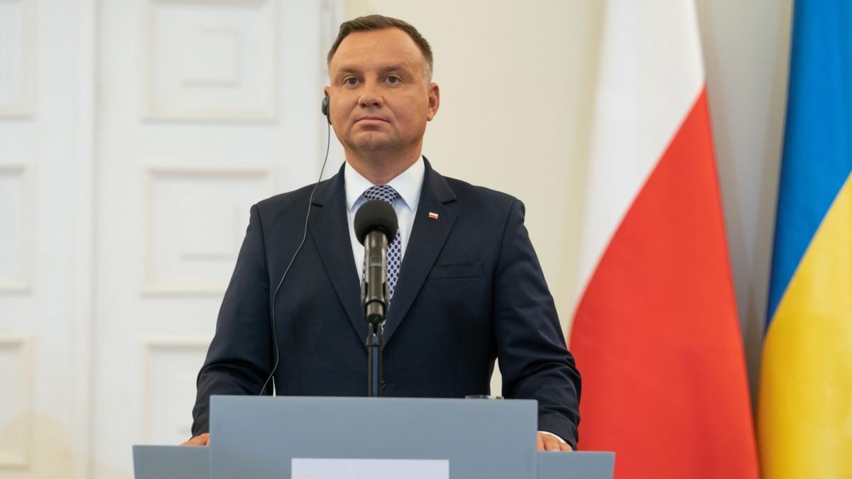 Польща: Дуда на інавгурації згадав про Україну