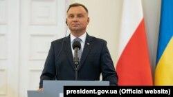 Poljski predsjednik Andržej Duda (Andrzej Duda)