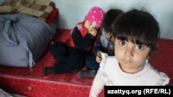 Сано Парадис, дочь Мохаммада Парадиса. Шымкент, 11 апреля 2017 года.