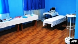 The medical suite prepared by the penitentiary service in Kachanivska prison for a medical examination of Yulia Tymoshenko