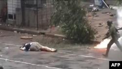 Yapon jurnalisiti Kenji Nagai çəkiliş apararkən qətlə yetirilib. 27 sentyabr 2007-ci il
