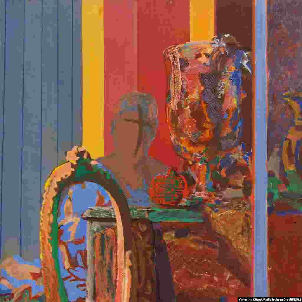 """Kostyantyn Reutov, """"Resolute Edge,"""" 1988"""