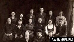 Мифтах Солтанов җитәкләгән татар эшчеләре бригадасы, 1935 ел