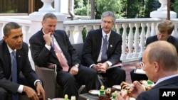 Preşedintele Obama şi premierul Putin