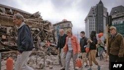 Последствия землетрясения в Новой Зеландии