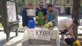 Georgia -- Kitchen for Robert Sturua, Tbilisi, 23Jun2019