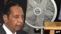 Бывший диктатор Гаити Жан-Клод Дювалье.
