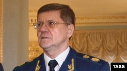 Russian Prosecutor-General Yury Chaika