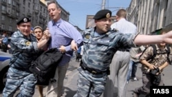 Британский правозащитник Питер Тэтчелл был задержан сотрудниками московской милиции