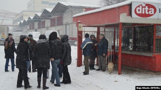 Štrajk radnika DITA-e (2012)