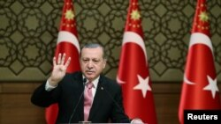 Претседателот на Турција Реџеп Таип Ердоган
