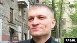 Belarusian rights activist Syarhey Kavalenka