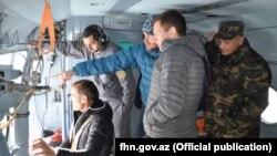 Avstriya mütəxəssisləri alpinistlər itkin düşən rayonda. 5 yanvar 2018