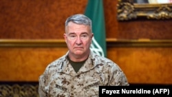 U.S. Marine Corps General Kenneth F. McKenzie Jr., Commander of the US Central Command (CENTCOM). FILE PHOTO
