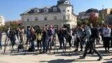 Disa pjesëtarë të mediave në Kosovë - Foto nga arkivi