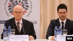 Прес конференција на набљудувачите на ОБСЕ/ОДИХР.