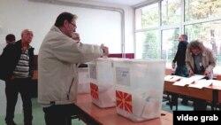 La alegerile de la Skopje
