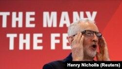 Лейбористтер партиясынын лидери Жереми Корбин, Лондон, 31-октябрь 2019-жыл.