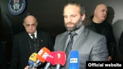 The allegations center on two-time world champion Luka Kurtanidze (center), who is accused of viciously beating up his deputy, Temur Kazarashvili, as well as prominent wrestler Raindi Abramishvili.
