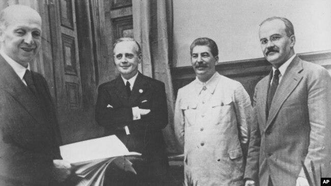 Договор о ненападении между ссср и германией дата