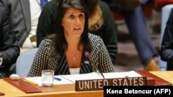 ABŞ-ın BMT-dəki səfiri Nikki Haley Rusiyanın Suriyaya dair qətnaməyə veto qoymasını tənqid edib